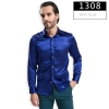 color 8fashion casual Imitation silk men shirt