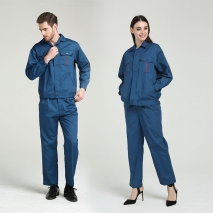 fashion high quality fabric factory workshop staff uniform