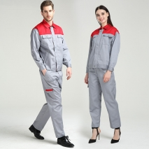 high quality fabric factory maintenance uniform set