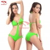 color 5fashion connected young bikini swimwear