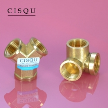 high quality 38-5 copper pipe fittings straight tee  y style tee