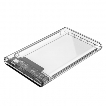 2.5 inch Transparent Type-C Hard Drive Enclosure (2139C3)