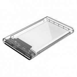 2.5 inch Transparent USB3.0 Hard Drive Enclosure (2139U3)