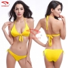 color 3simple color women water play bikini swimwear