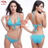 color 9simple color women water play bikini swimwear