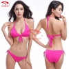 color 10simple color women water play bikini swimwear