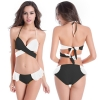 Europe candy sexy halter women swimsuit