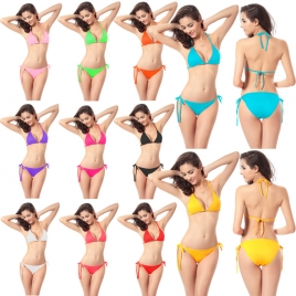 candy sexy women bikini swimwear 11 colors