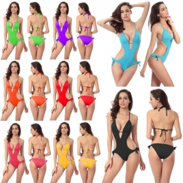 fashion water game sexy bikini  women beach swimsuit