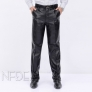 fleece large windproof high quality straight-leg men's motor pant trousers