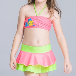 sweat lovely spring water children swimwear girl swimsuit