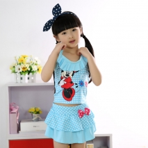 high quality mickey mouse  swimsuit for girl