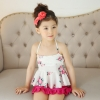lovely flower water spa swim little girl kid swimwear