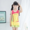 lovely one piece child girl swimwear