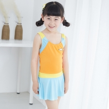 lovely one piece swimwear for little girl