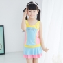 cute one piece swiming bath child girl swimwear
