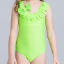 fashion nice one-piece girls swimwear