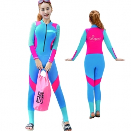 2017 new design wetsuit swimwear for women