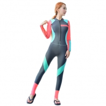 new design slim fit women wetsuit swimwear for women