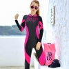 fashion lace patchwork young wetsuit swimwear