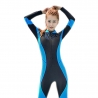 color 1fashion lace patchwork young wetsuit swimwear