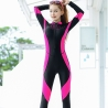 color 2fashion lace patchwork young wetsuit swimwear