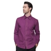 men long sleeve purple shirtcowboy denim waiter waiter short / long sleeve shirt