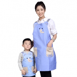 cartoon elephant child apron housekeeping apron