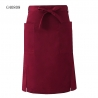 wine aprondual split half length apron waiter chef apron