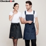 upgrade denim kitchen chef apron