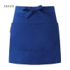 sapphire apronsolid color short design apron for chef waiter