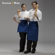 high quality short design apron for chef waiter