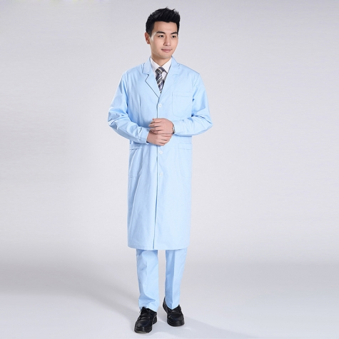 autumn hospital doctor coat male nurse uniform men doctor uniforms