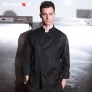 new design Pleated front restaurant chef coat chef jacket
