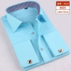 color 5fashion stripes print men shirt  uniform