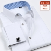 color 6fashion stripes print men shirt  uniform