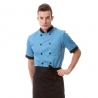 bluecandy color restaurants baker jacket coat uniform
