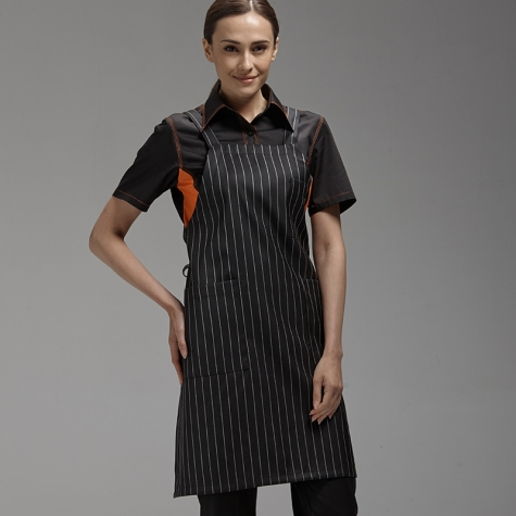 Korea Long halter design family coffee shop chef apron