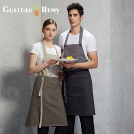 great fashion long design halter restaurant coffee shop staff apron