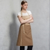 color 1great fashion long design halter restaurant coffee shop staff apron