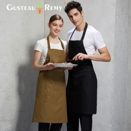 upgraded coffee shop clerk apron baker waiter apron
