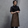 unisex coffee apron1/2 length restaurant bread shop baker  chef apron