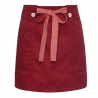 short wine apronbutton belt short apron