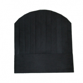 black round top paper disposable kitchen chef hat wholesale