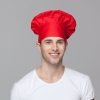 red chef hatunisex design fashion mushroom chef hat