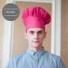 color 10unisex design fashion mushroom chef hat