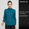 women blackish green shirt