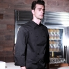 black chef coatfall design KFC fried chicken store chef jacket uniform