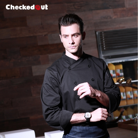 high quality restaurant dish KFC fried chicken store chef jacket coat