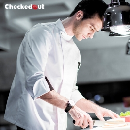 upgraded breathable kitchen master jacket chef coat uniform